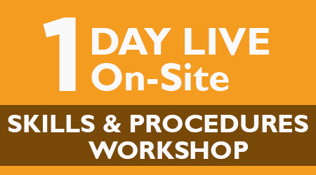 1-Day Live On-Site Skills & Procedures Workshop – Atlanta, GA – April 2020